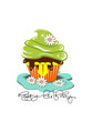 Cupcakes, Muffin Geburtstagskarte