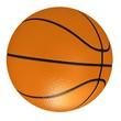 Orange basket ball