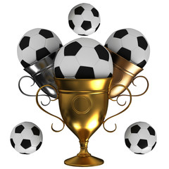 Football championship concept