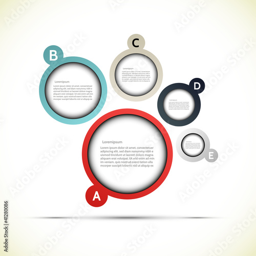 Vector sphere presentation, vector illustration