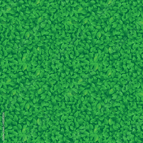 leaves pattern. Seamless vector.