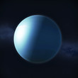 View of planet Uranus