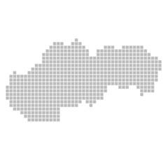 Pixelkarte - Slowakei