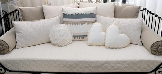 Cuscini e sofa