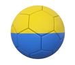 3D soccer ball ukraine
