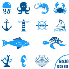 Icon Set - Meer