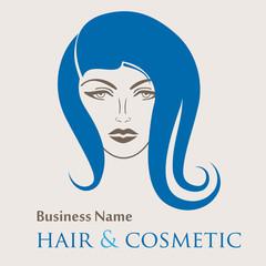 Haar- und Kosmetik - Logo