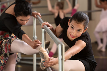 Cute Teen Ballerinas