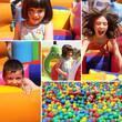 Zabawa dzieci na placu zabaw