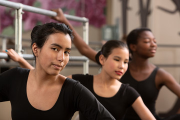 Three Ballet Students