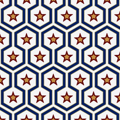 geometry star pattern