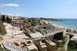 Roman amphitheater ruin in Tarragona, Spain