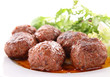 meatballs and sauce