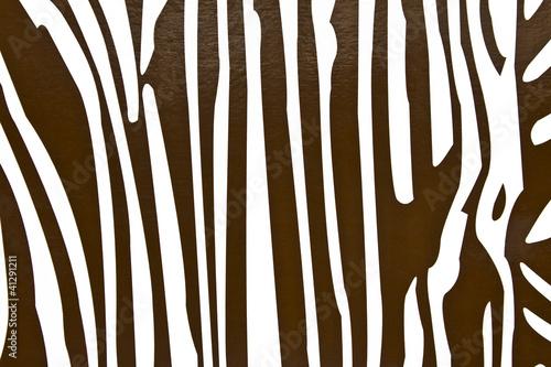 malowanie zebra