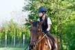 girl riding a horse - 41291449