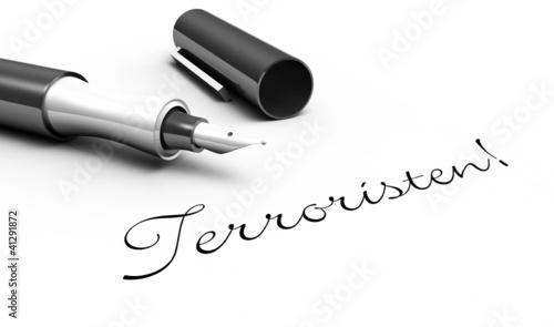 Terroristen! - Stift Konzept