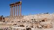 Columnas del templo de Júpiter, Baalbek, Líbano