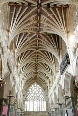 decorazioni interne della cattedrale di San Pietro a Exeter