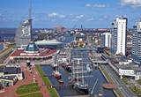 Fototapety Bremerhaven, Skyline