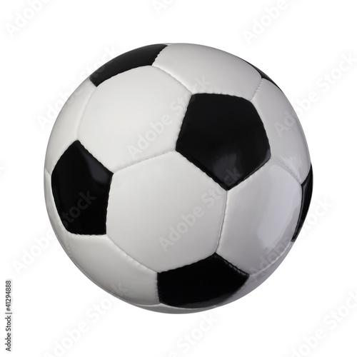 Leinwanddruck Bild Klassischer Fußball