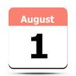 Kalender - August 1