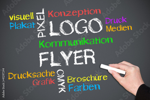 Logo und Flyer - Color Concept