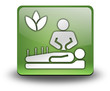 "Green 3D Effect Icon ""Alternative Medicine"""