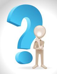 Man business question