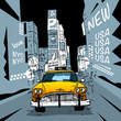 Fototapeten,new york city,new yorker,taxi,uns