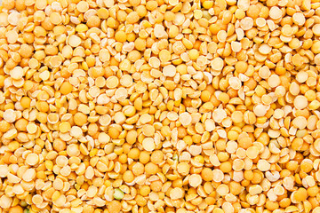 Dry Uncooked Peas Texture, Background