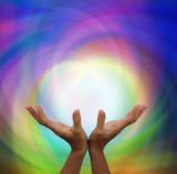 Fototapety Quantum healing energy