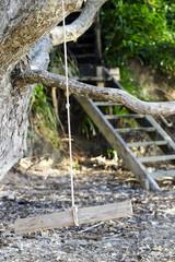 Childhood Game - Tree Swing