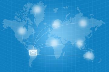 Mail World wide communication.