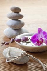 zen mineral beauty scene