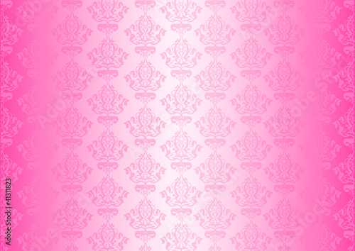 Vector pink wallpaper