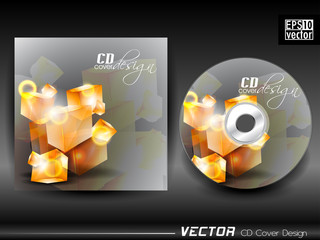 Vector CD cover design.