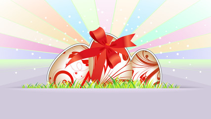 Easter background for your business