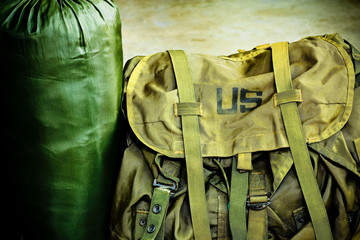 Army bag soldier