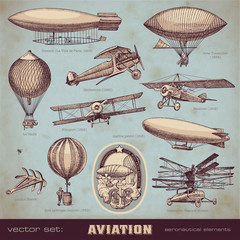 vector set: aviation