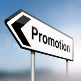Job promotion concept. poster