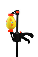 Easter egg and vise grip