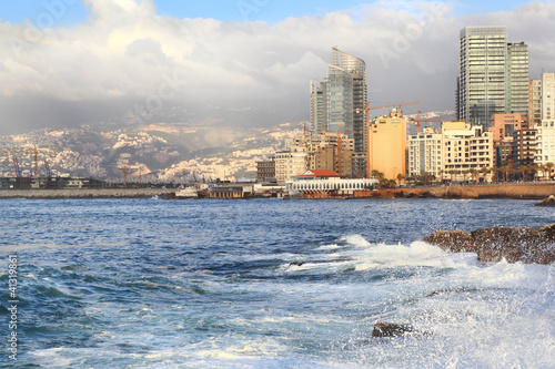 Beirut on the Mediterranean