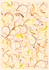 Floral India background