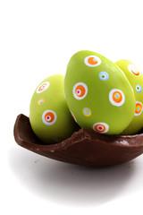 Easter egg piece
