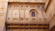Detalle del Fuerte de Jaisalmer, Rajasthan, India
