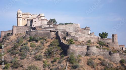 Fuerte Kumbhalgarh en el Rajasthan, India