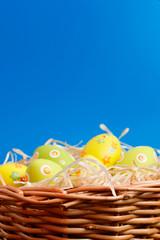 Easter eggs hunt scene