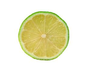 Scheibe einer Limette