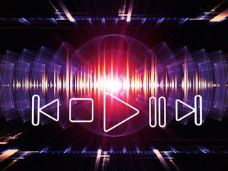 Fractal music