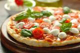 Fototapety Pizza caprese